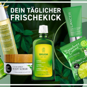 Onlinebanner für Kosmetikprodukte